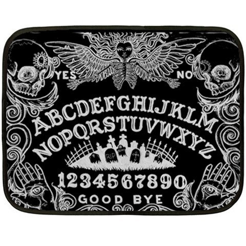 Ouija Board and Day of the Dead Lap Blankets by StuffoftheDead on We Heart It - http://weheartit.com/entry/62096468/via/shayneofthedead   Hearted from: https://www.etsy.com/listing/151737301/ouija-board-and-day-of-the-dead-lap#
