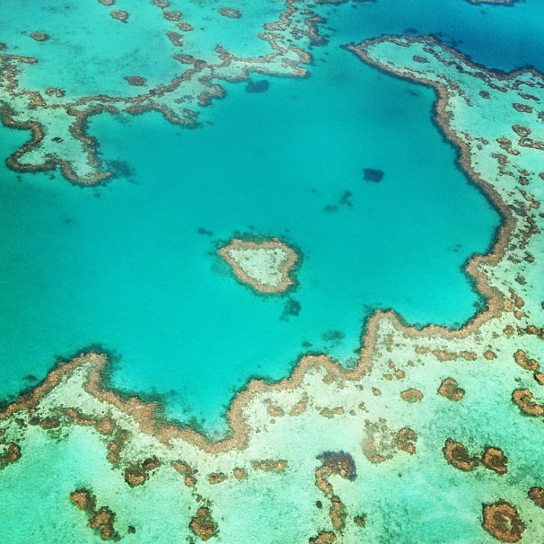 businessoffashion:  In the 'heart' of the Great Barrier Reef, Australia.