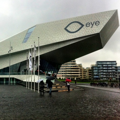 #Amsterdam #travel tip: have drink at the eye for great harbor views #tburtm