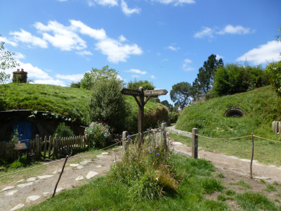 hobbithouses:  Hobbiton, Matamata, New Zealand