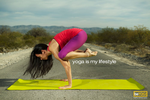 Yoga is my lifestyle.