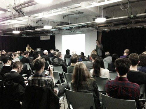 I gave a talk to the Evernote Business London Meetup on Thursday evening on RCKa's use of Evernote. Here's a photo from the event taken by Christina Reisen of Evernote Europe. I discussed how RCKa has moved from a series of shared notebooks and sponsored accounts to a full implementation of Evernote Business, and how this had addressed a number of concerns regarding the issues of ownership of intellectual property we had with the previous arrangement. I also described a number of ways in which Evernote has dramatically improved our productivity as well as streamlining a number of company-specific tasks, including building snagging and management of our in-house precedent library. The event was also an opportunity to launch the latest Evernote Business case study which illustrates the ways in which we have integrated Evernote into our practice.
