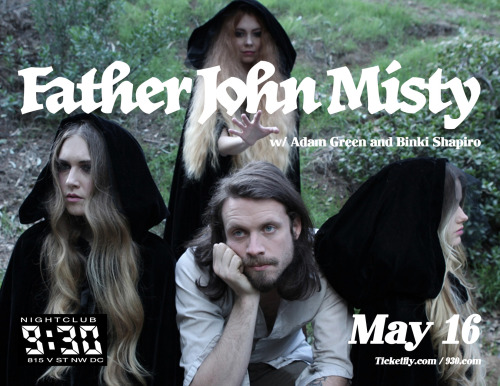"SHOW PREVIEW: Father John Misty If you're not already on the J.Tillman train, I suggest you hop on now because this man knows how to create meaningful music. Although Tillman is currently the leader of Father John Misty, he has also toured with other well-regarded artists, including Fleet Foxes, Damien Jurado, and David Bazaan. His debut album as Father John Misty, Fear Fun, was released last April and landed itself on many people's ""Best of 2012"" lists by the end of the year. Fear Fun combines soft folk rock with poetic lyrics and absolutely lives up too all of the hype. ""I'm Writing a Novel"" is a great introduction to Tillman's voice, but each track provides us with something different and equally important. Anyone lucky enough to catch a live Father John Misty show will immediately recognize that Tillman is not just a talented musician/songwriter, he was meant to be a performer. He takes Fear Fun to another level with lots of sassy remarks alongside a clear wish that the show be almost a cathartic experience for the audience. During a Coachella interview a few weeks ago Tillman spoke about ""that vague sense of music that we all know…it brings a feeling of commonality and reduces isolation we feel in the universe."" So, come together and witness Father John Misty's candor in person at the club on May 16th.   -Emily Hirsch"