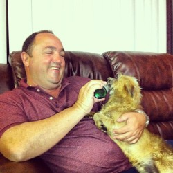 My dad & loki 💘🐶