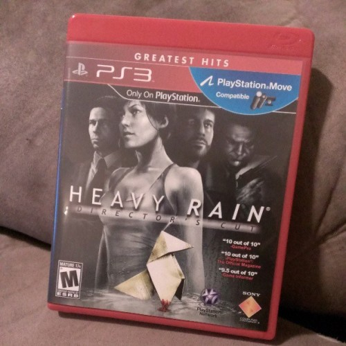 Finally bought #heavyrain #ps3 #sony