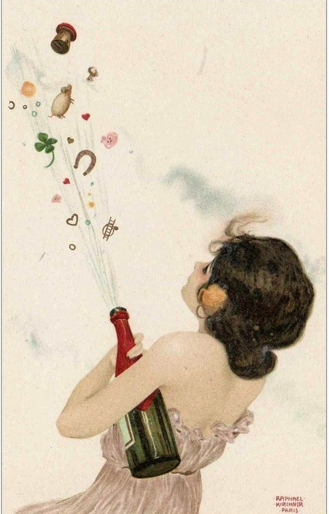 vandavintage:   New Year Wishes (via Vanda Vintage / Pinterest)