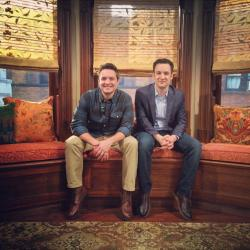 1k instagram ben savage will friedle Girl Meets World bts: 2014
