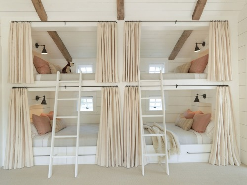 homedesigning:  Built In Bunk Beds