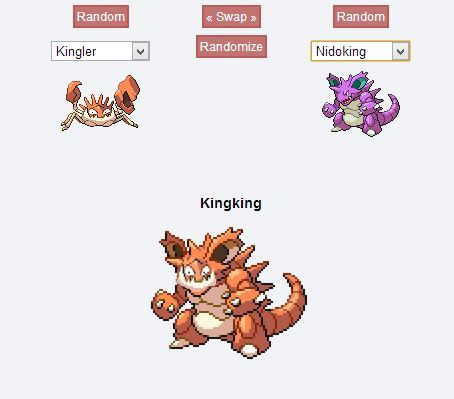 robot-folk:  I honeslty tried to refrain from checking out the pokemon fusion thing and then I got the pokemon version of fucking Moon Moon goddamit