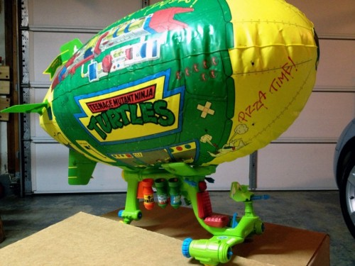 Vintage 1991 Teenage Mutant Ninja Turtle TMNT Turtle Blimp II!!!