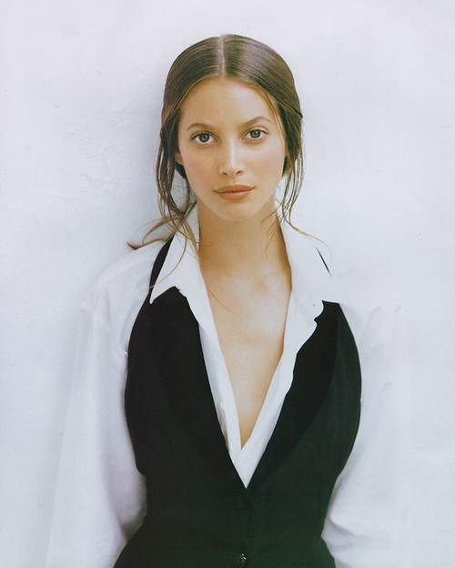 "90s models > nowadays models. Christy Turlington in the ""Artistry"" fashion editorial for Harper's Bazaar US, September 1993, photographed by Patrick Demarchelier."