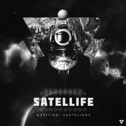 "SATELLIFE ""GREETING, EARTHLINGS""COVER_ARTWORK. (2013)*Tool : Adobe Photoshop & After Effect CS 3"
