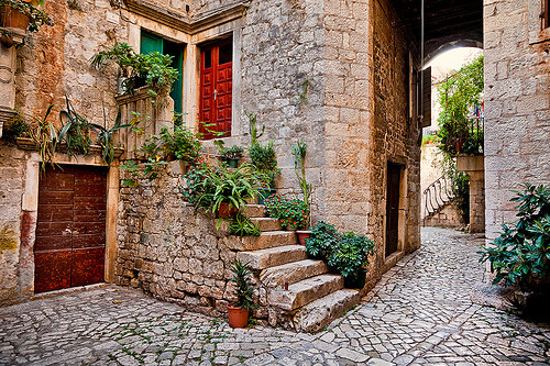 Medieval, Trogir, Croatia  photo via angela