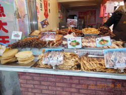 februarywishes:  Squid stall in Taiwan