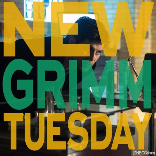 fandomisalligot:  Don't forget Grimmsters that Grimm has moved to a new day…
