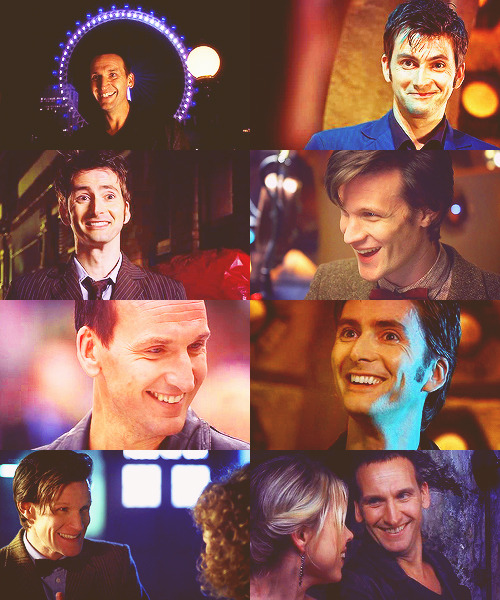 screencap meme → the doctor + smiles↳asked by jameswiththeviolin