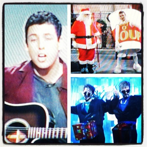 It's not Christmas until you watch an SNL CHRISTMAS!!! #AdamSandler #HanukkahSong #JustinTimberlake #D&ckInABox #Homelessville