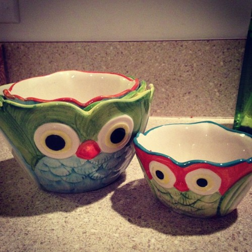 Found the cutest measuring cups at Pier 1.