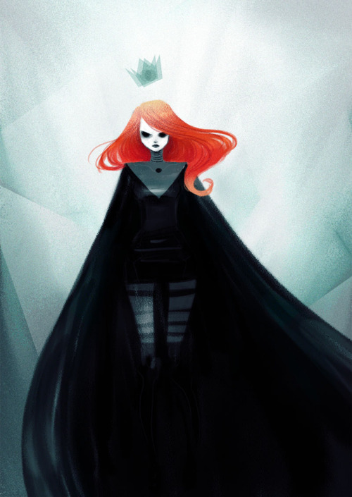 eatsleepdraw:  The Red Crowned Follow me on Tumblr  Lunacy