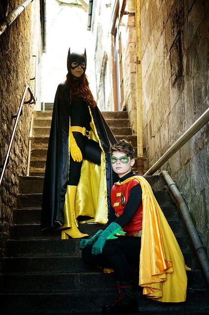 carlosadama:  Damian & Barbara on Flickr.  Perfect photo of a perfect cosplay part 2.