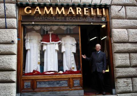 Gammarelli - the measurements were ready