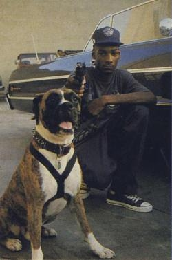 worldofbadass:  Young Snoop