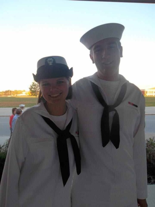 armedforceslove:  Joe and I at my boot camp graduation. He surprised me, he wasn't suppose to be able to go.   http://selfabolition.tumblr.com