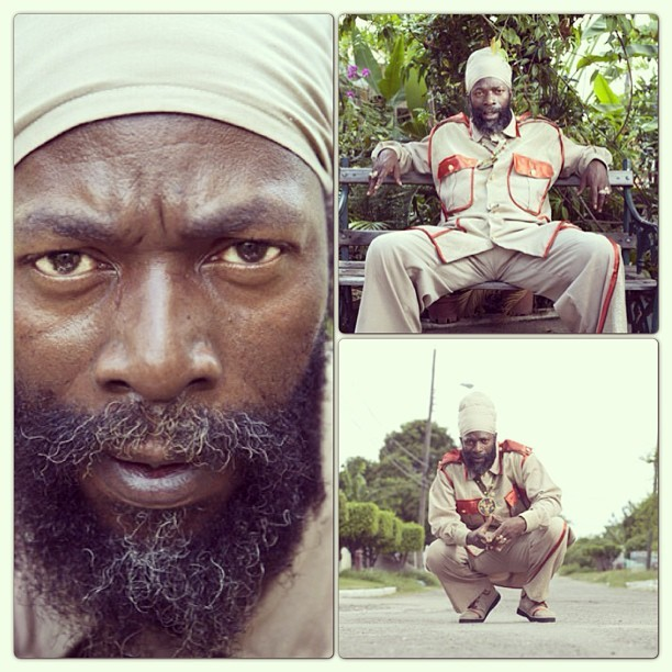 backayard:  @capletonmusic by @samimages #capleton #fireman #kingshango #rasta #reggae #dancehall #kingston #jamaica #trysellthis #mushashtageverything  (at Mi Casa de Barbican)