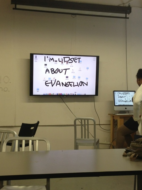 jaynejezebelle:  So I walked into class this morning and was greeted by this.