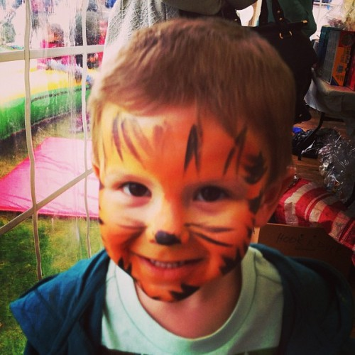 My little tiger boy 💙