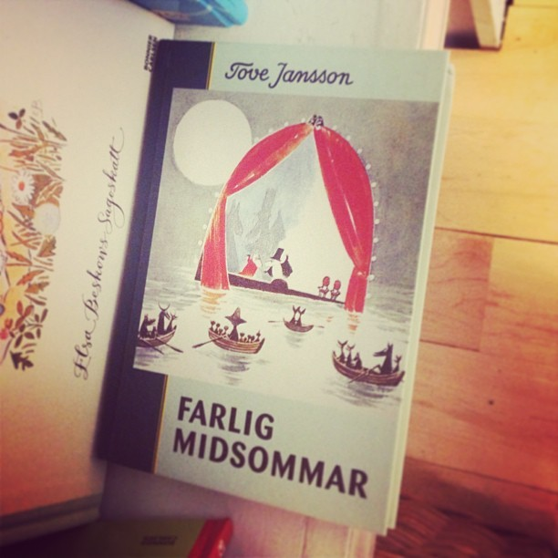 Not for the first time, I wish I spoke Swedish. Or Moomin.