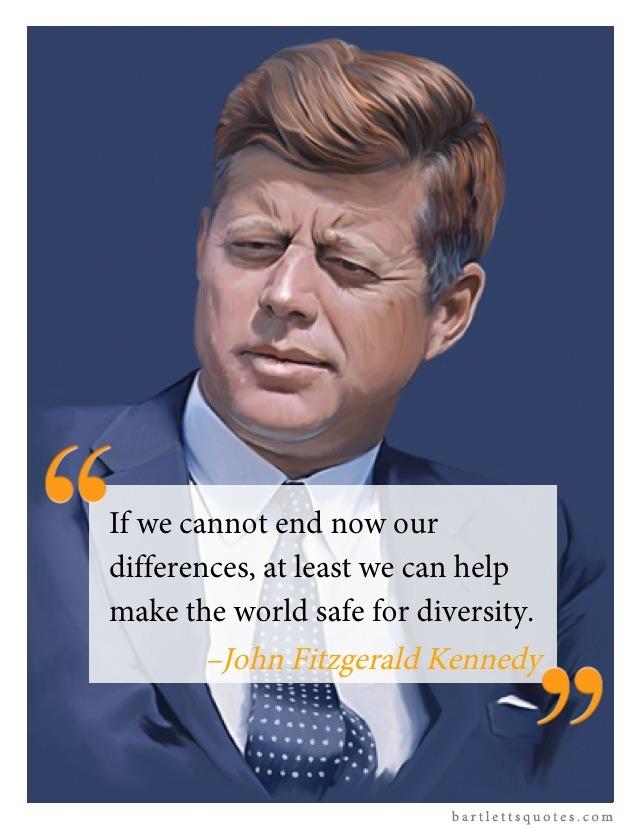 Happy birthday JFK! Your words still ring true today.