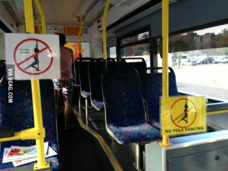 9gag:  A bus in Australia.