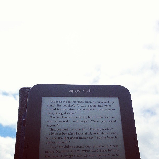 05172013 Finally. Down time. :) #summerbreak #reading #blueskies #sunshine #dailyphoto #dailypic #365 #photo365 #photoaday #statigram #webstagram