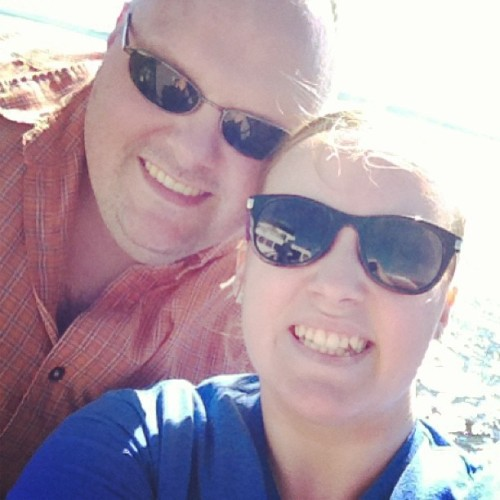 I'm a total daddy's girl . <3 #daddy #daddysgirl #lovehim #mostimportantmaninmylife #mydad #resemblance #sunglasses #chessin #adorable #loveus #bestfriends #besties #father #daughter #bond #fatherdaughterbond #ferryboat #sunshine #edmonds #followme #f4f #s4s #tagforlikes #tflers