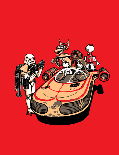 These Aren't The Droids You're Looking For Available as a print!