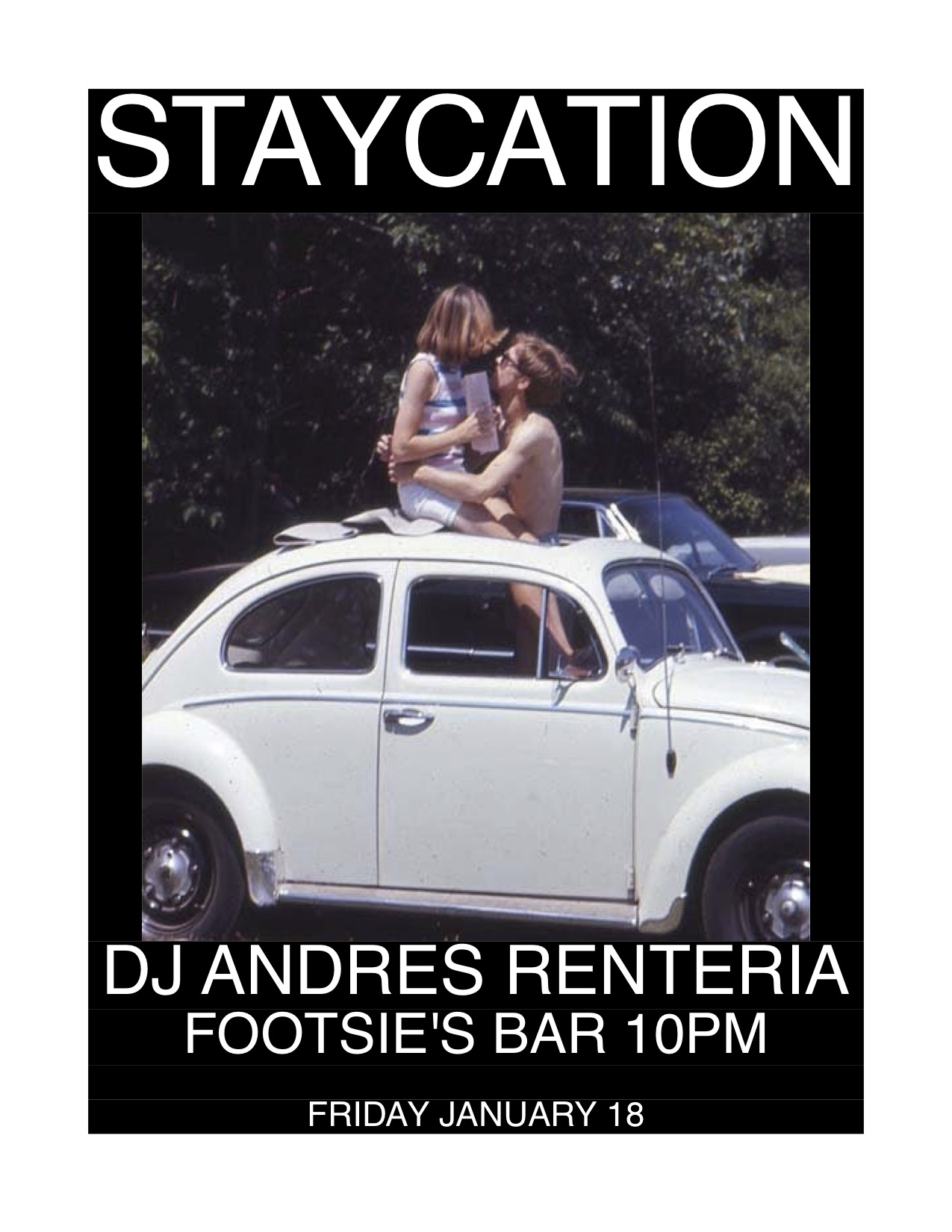 I'll be spinning records from 10pm-2am at Footsie's Bar on Friday, January 18.  It'll be like kissing your favorite girl or your favorite boy in that '64 ragtop you've always wanted.   soul, funky 45s, international shakers, r&b, and more……….It's the most fun!!!!!