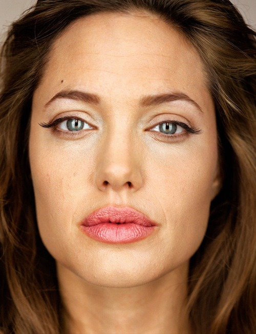 Angelina Jolie photographed by Martin Shoeller.