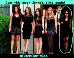 Whats up with the shades jenna?