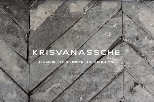 krisvanassche:  KRISVANASSCHE's first Flagship Store will open this summer in Paris!