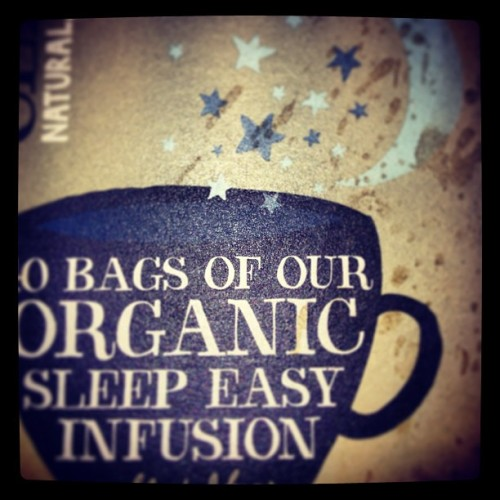 #camomile tea, sleep easy bags, warm me up before bed. So tasty.