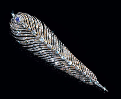 marcelplante:  Marie Antoinette's diamond feather