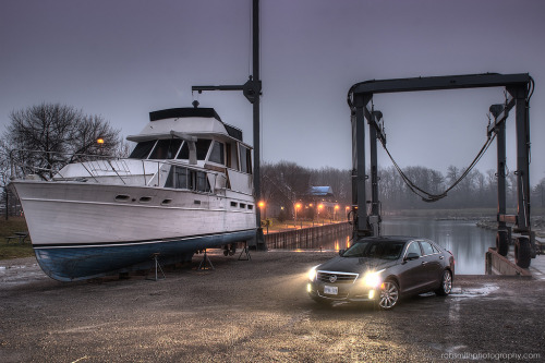Port authority Starring: Cadillac ATS (by rob smith photography)