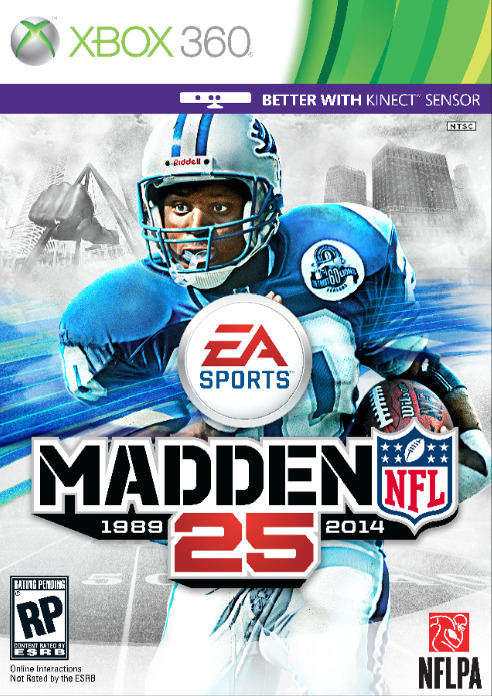 It's Official! Barry Sanders will be on the cover of Madden 25!