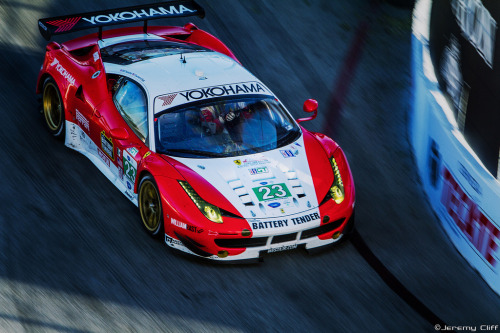 Ferrari 458 Italia ALMS Race Car Image by Jeremy Cliff