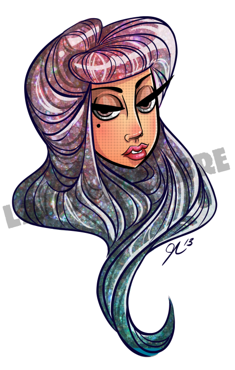 Some more Gaga for the Little Monsters. (Due to copyright infringement on my work a watermark will be present from now on.)