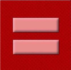 The red equality sign is in support of marriage equality as the Supreme Court reviews the legality of Proposition 8. Show your support!