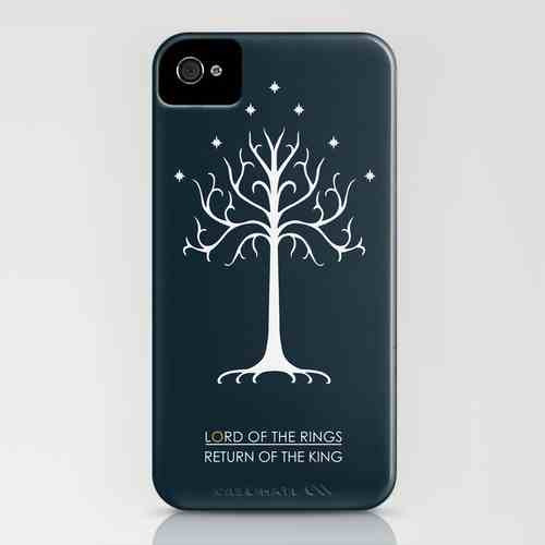 My Return of the King design on a phone cover - it also looks amazing on a tee and cushion   Available at http://society6.com/adamjames  :)