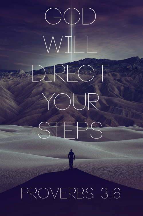 "spiritualinspiration:  ""In all your ways acknowledge Him, and He shall direct your paths"" (Proverbs 3:6, NKJ)  Do you need direction in your life? Ask yourself, ""Am I acknowledging God in all my ways?"" In other words, is He first place in your life? All throughout the day, we should be acknowledging God, asking for His help, seeking His wisdom, obeying His commands and thanking Him for His goodness.  In the morning, we should wake up and say, ""Father, thank You for another beautiful day. I commit this day, my plans and my future into Your hands."" When you start the day like this, you are acknowledging God. He promises to crown your day with success. When you are driving on the freeway say, ""Father, thank You for keeping me safe."" At the office say, ""Lord, help me to be focused and productive today."" At home, ""Father, bless my children."" Before you go to bed, ""Lord, thank You for a good night's rest."" When you're acknowledging Him in all your ways, He promises to direct your paths. He promises to lead and guide you into paths of peace, joy and everlasting life!"