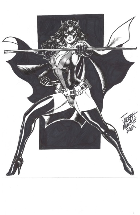 helenawayne:  Huntress by Joseph Mackie